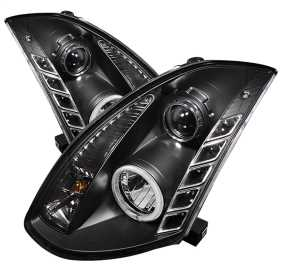 CCFL Halo DRL LED Projector Headlights